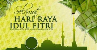 Selamat Idul Fitri 1436 H - 2015 M