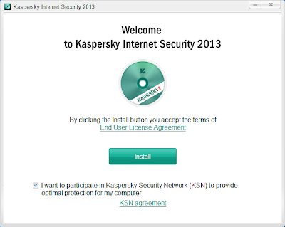 Kaspersky Internet Security 2013 Setup