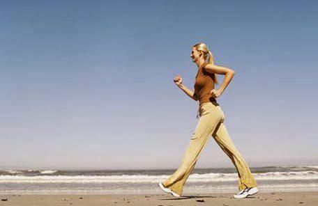 Chạy bộ sẽ là phương pháp hiệu nhất để có đôi chân thon gọn