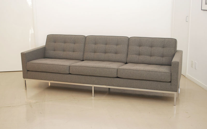 Classic Design Before After Florence Knoll Sofa Lounge Chair