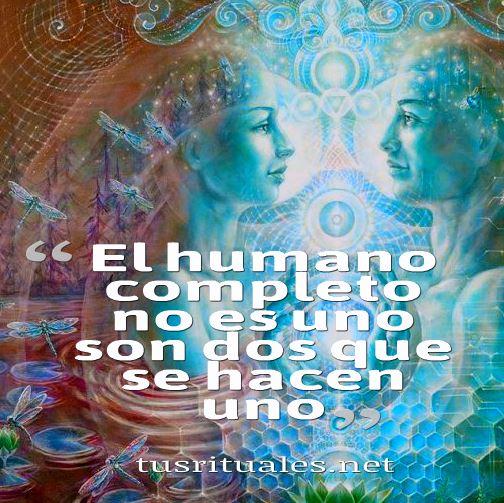 el humano completo alma gemela