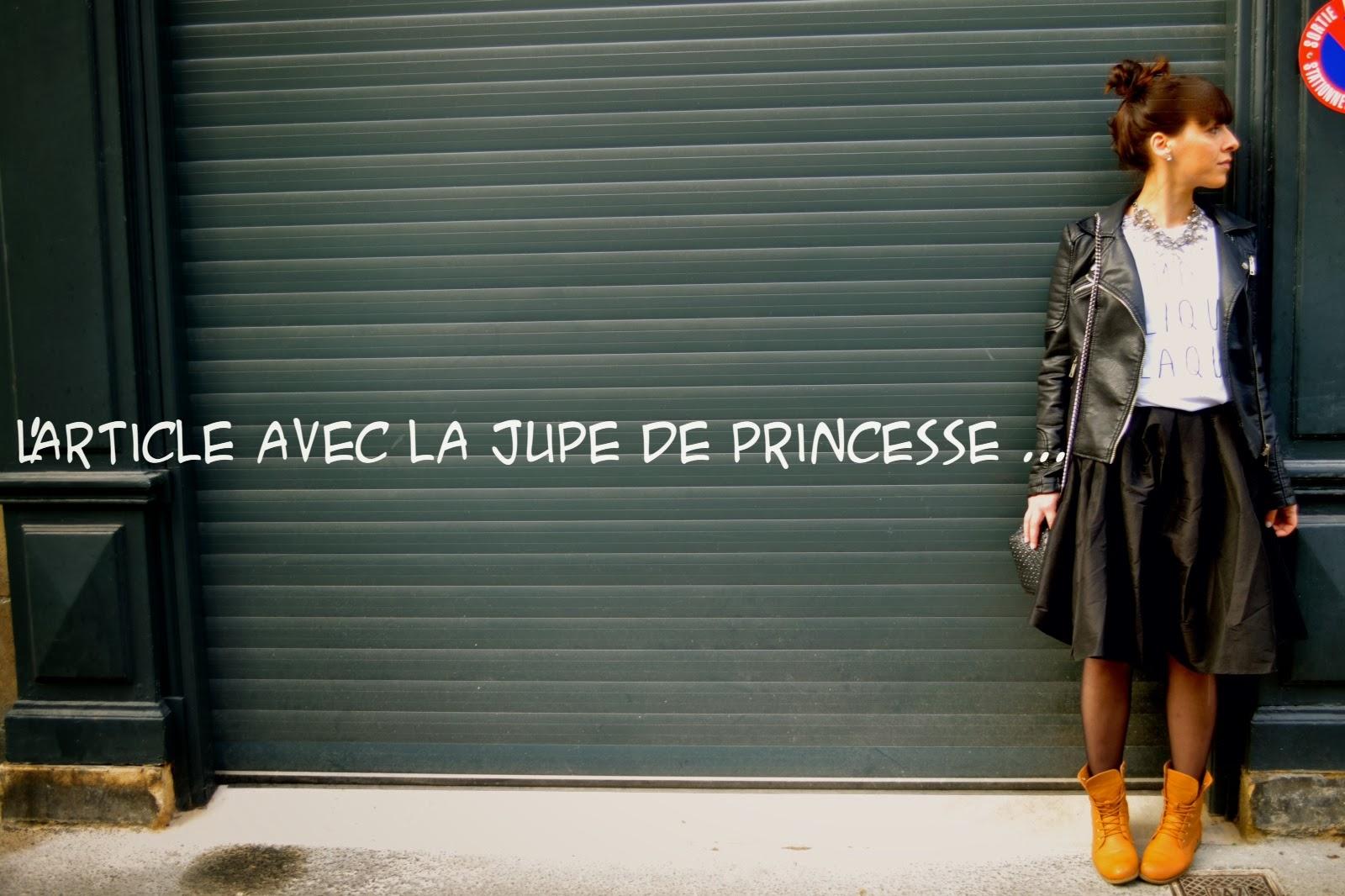 L'article avec la jupe de princesse ...