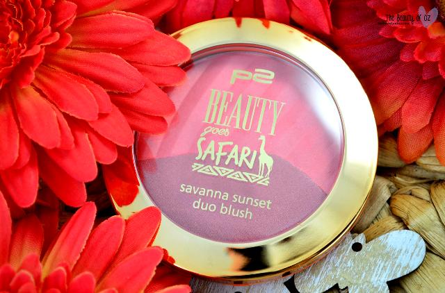 Review p2 Beauty Goes Safari Savanna Sunset Duo Blush
