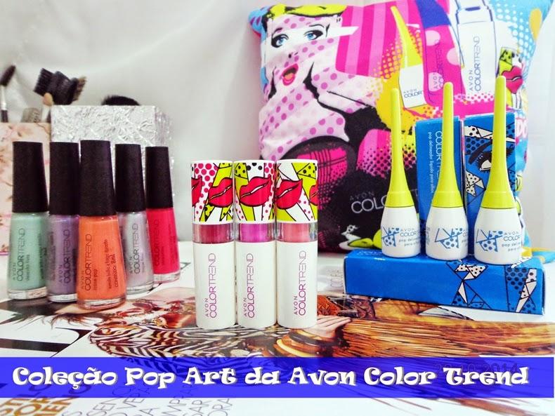 Coleção Pop Art Avon