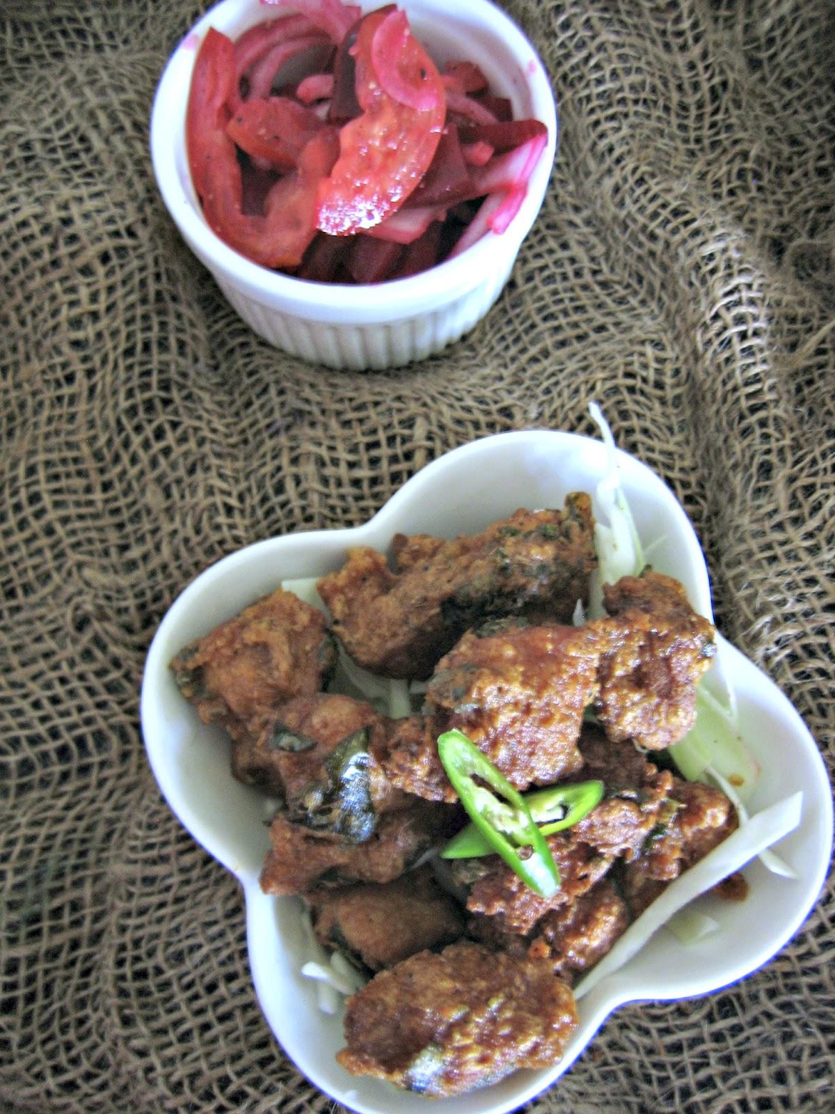 restaurant style chicken65 3