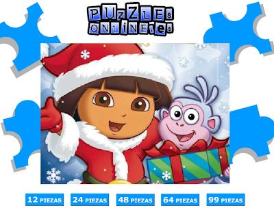 Puzzle Online Dora Exploradora