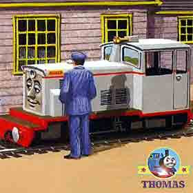 Learning Curve Thomas the tank engine wooden railway train model Frank the diesel engine locomotive