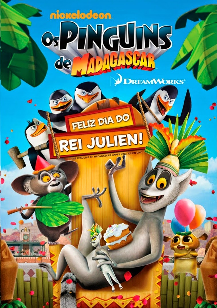 Os Pinguins de Madagascar: Feliz Dia do Rei Julien! – Dublado (2011)