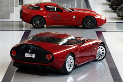 Alfa Zagato  on The Heritage Pilot Messieurs De La Zagato If Tz3 Stroke