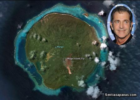 Mel Gibson - Mago Island, Fiji