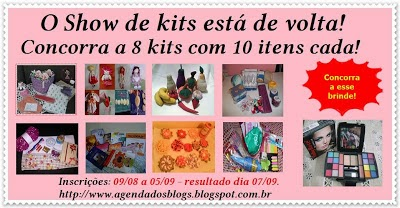 Show de Kits Agenda dos Blogs