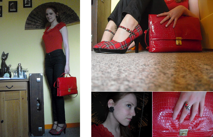 Fashion First Outfit Post Red Sonja Blog Personal Style