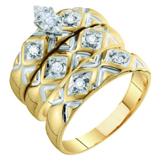 Trio Wedding Ring Sets Trio Wedding Ring Sets Sale Wedding Rings