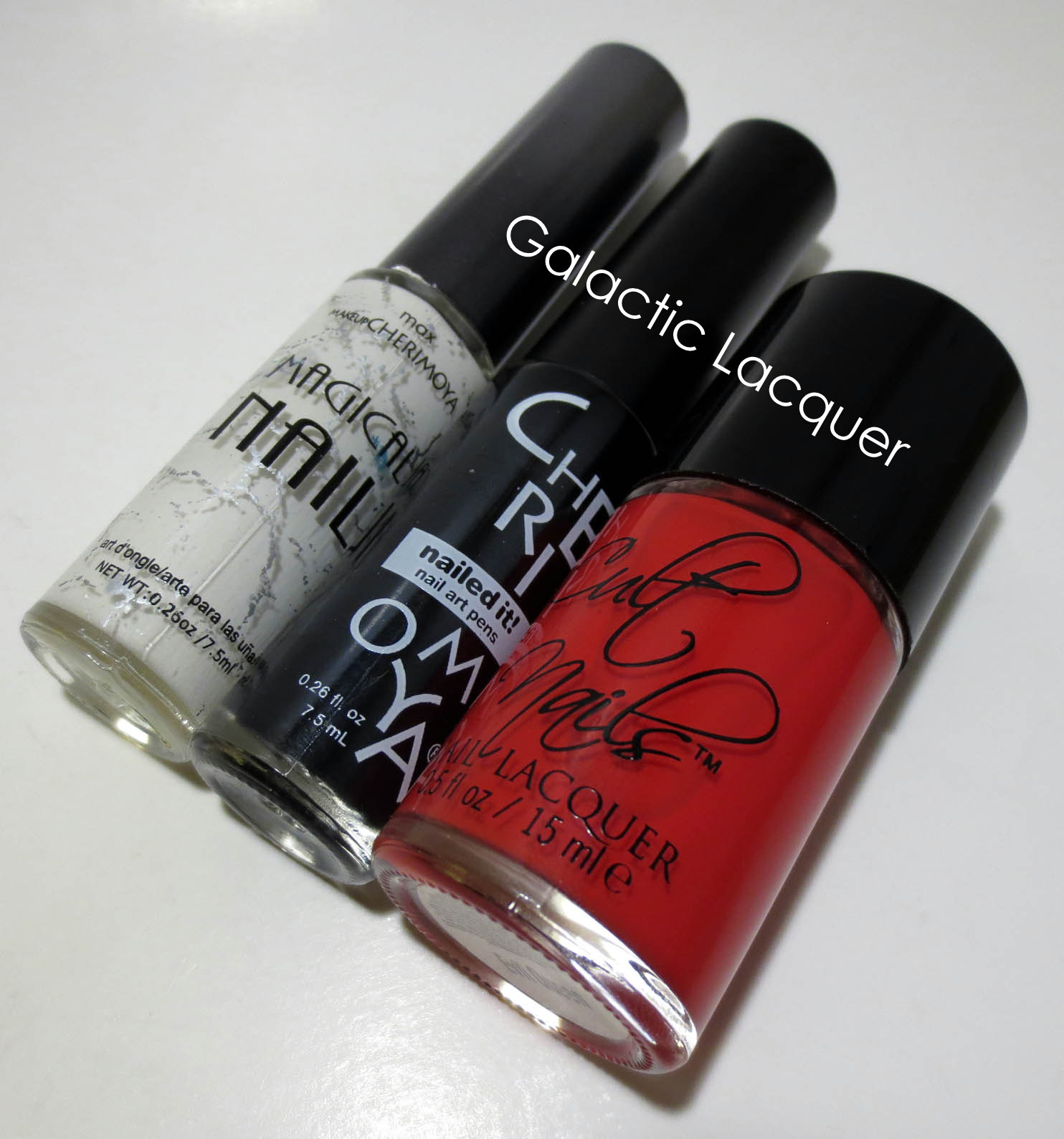 Galactic Lacquer: Flip Flop February - Outline