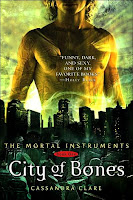 City of Bones book cover Cassandra Clare