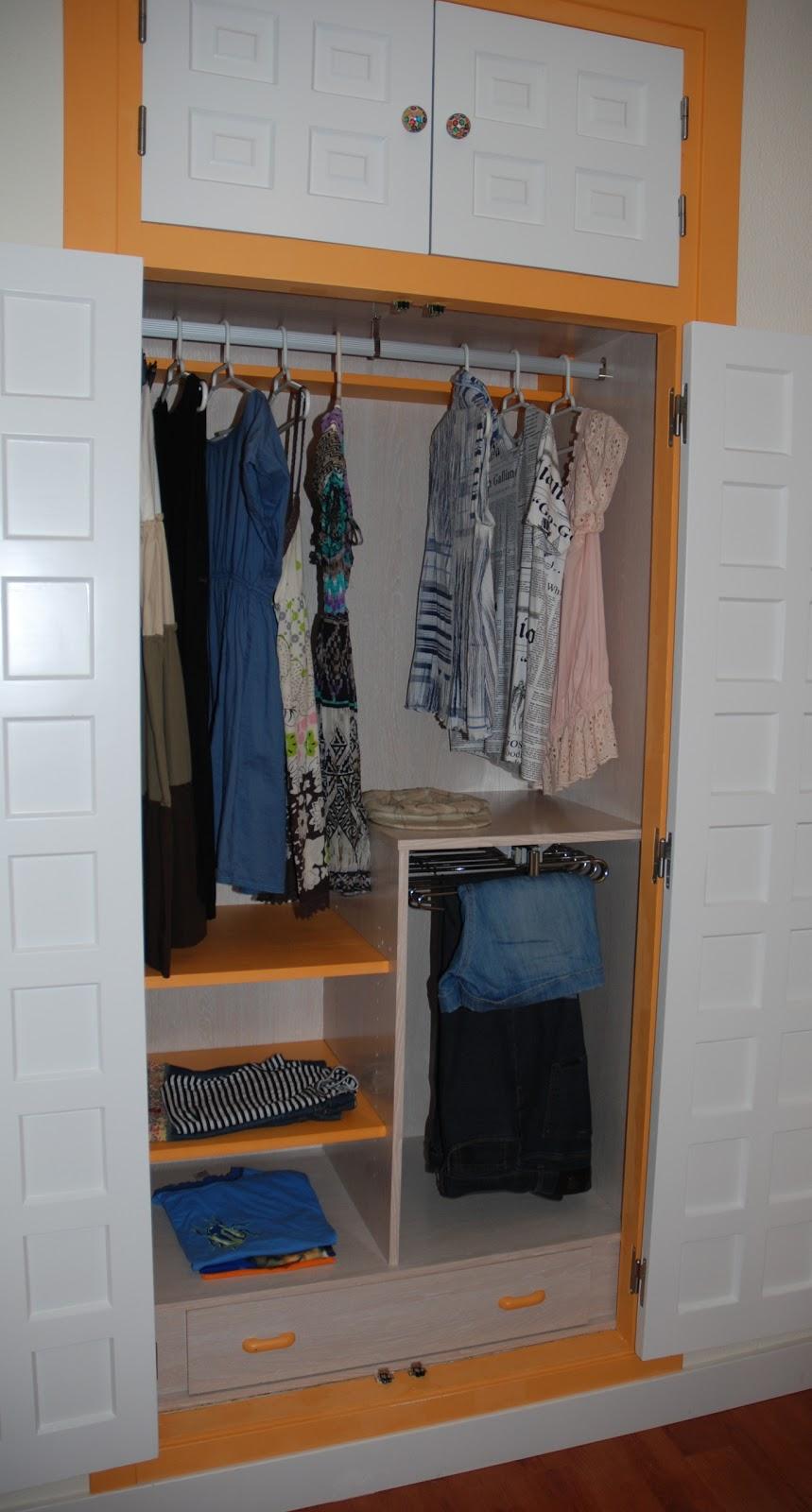 Caballito de cart n forrar armario empotrado montaje - Montaje armario empotrado ...