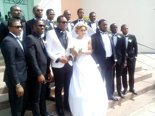Former Most Beautiful Girl In Nigeria Fiona Amuzie Weds In Style (Adorable Photos)