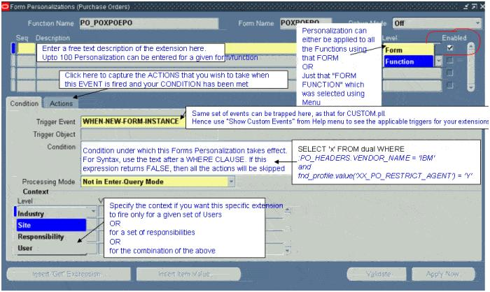 Mahamad Sulthan Oracle Applications: Forms Personalization