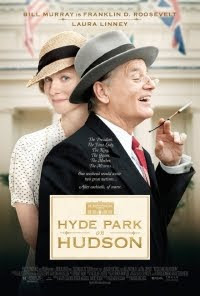 Hyde Parkon Hudson Movie - In June 1939, President Franklin Delano Roosevelt (Murray) and his wife Eleanor (Williams) host the King and Queen of England (West, Colman) for a weekend at the Roosevelt home at Hyde Park on Hudson, in upstate New York – the first-ever visit of a reigning English monarch to America.