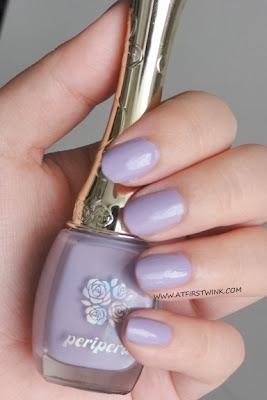 Peripera nail polish PP108 - Holy Lavender