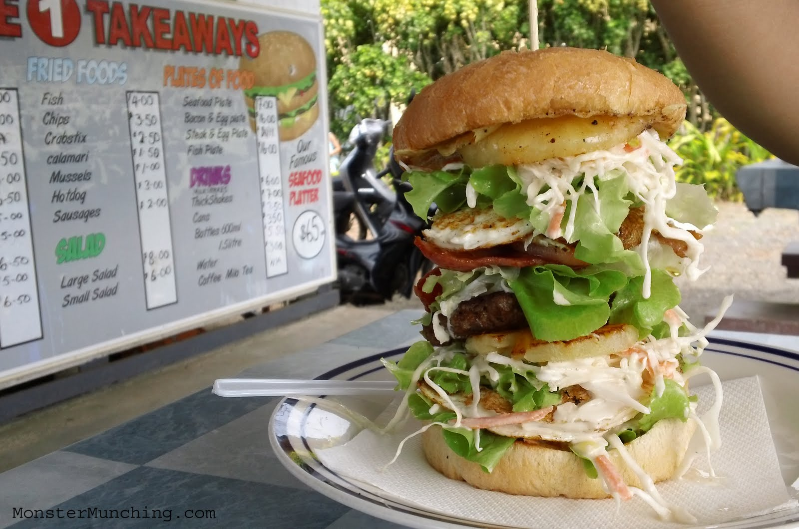 Island Burger In Brooklyn New York