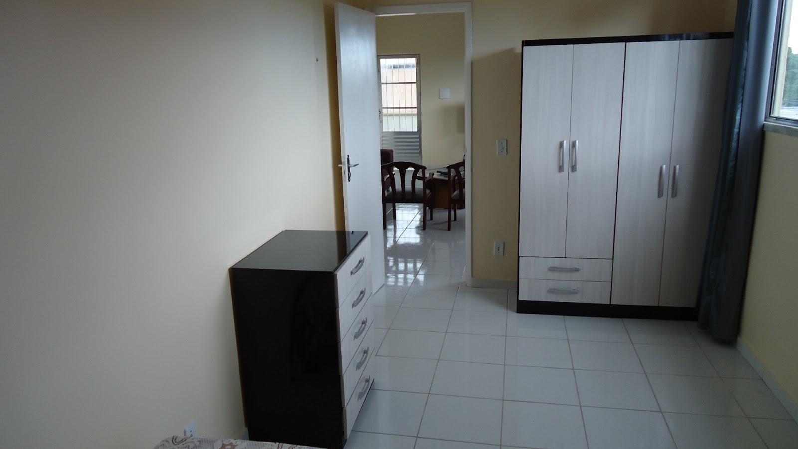 Outra foto de um dos quartos do pensionato Lar da Meninax (Fortaleza-CE)
