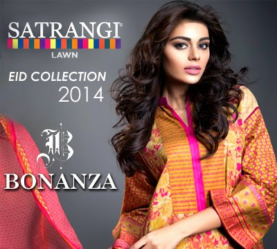 Bonanza Satrangi Eid Collection 2014