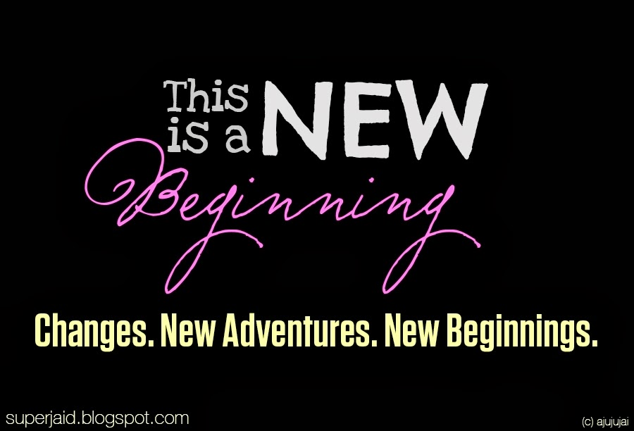 This is A New Beginning