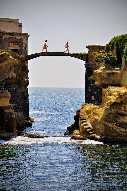 Gaiola Bridge-Naples-Italy
