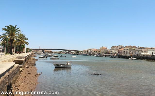 Barcos-Río-Gilao-Tavira