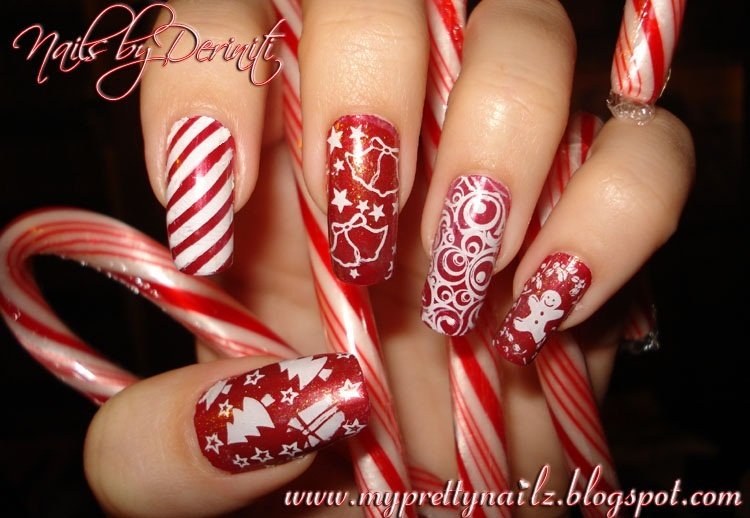My Pretty Nailz: Merry Christmas Mani - \