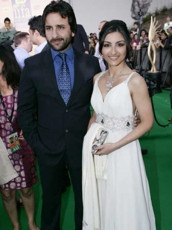 Soha Ali Khan with Brother  Saif Ali Khan