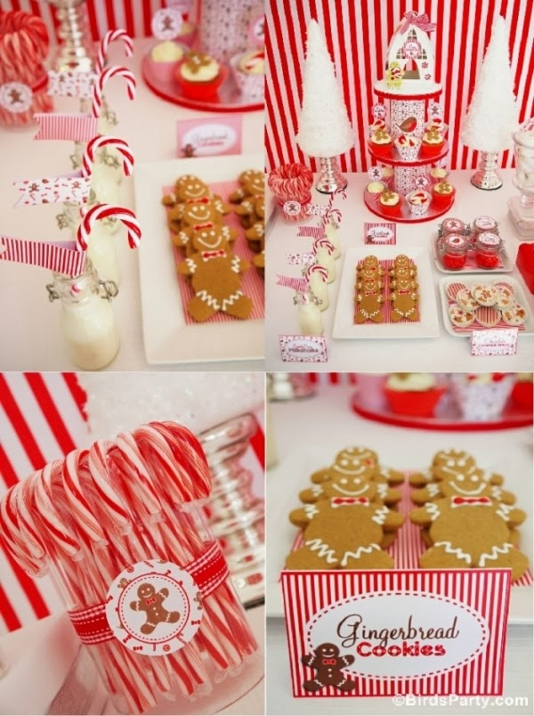 Christmas Candyland Gingrebread Cookies