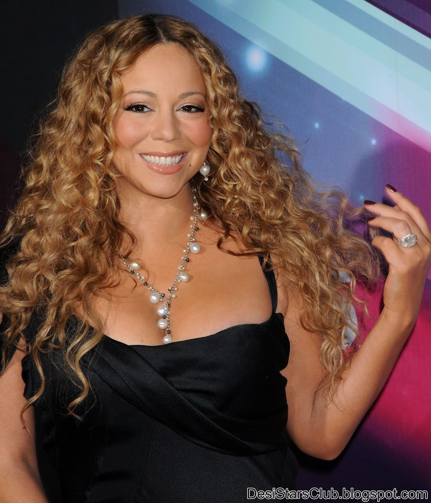 Mariah Carey in Black Dress at Nickelodeon's TeenNick HALO Awards 2012