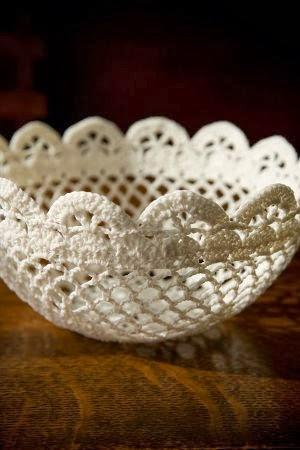 CROCHET PATTERNS BOWLS - Crochet Club - CROCHETED DELICATE