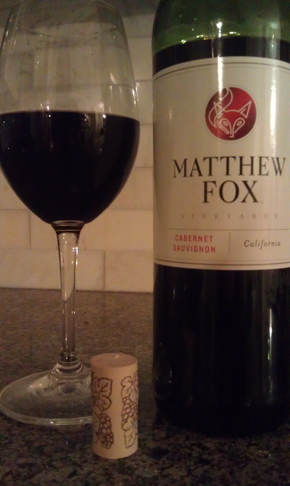 Matthew Fox cabernet sauvignon review