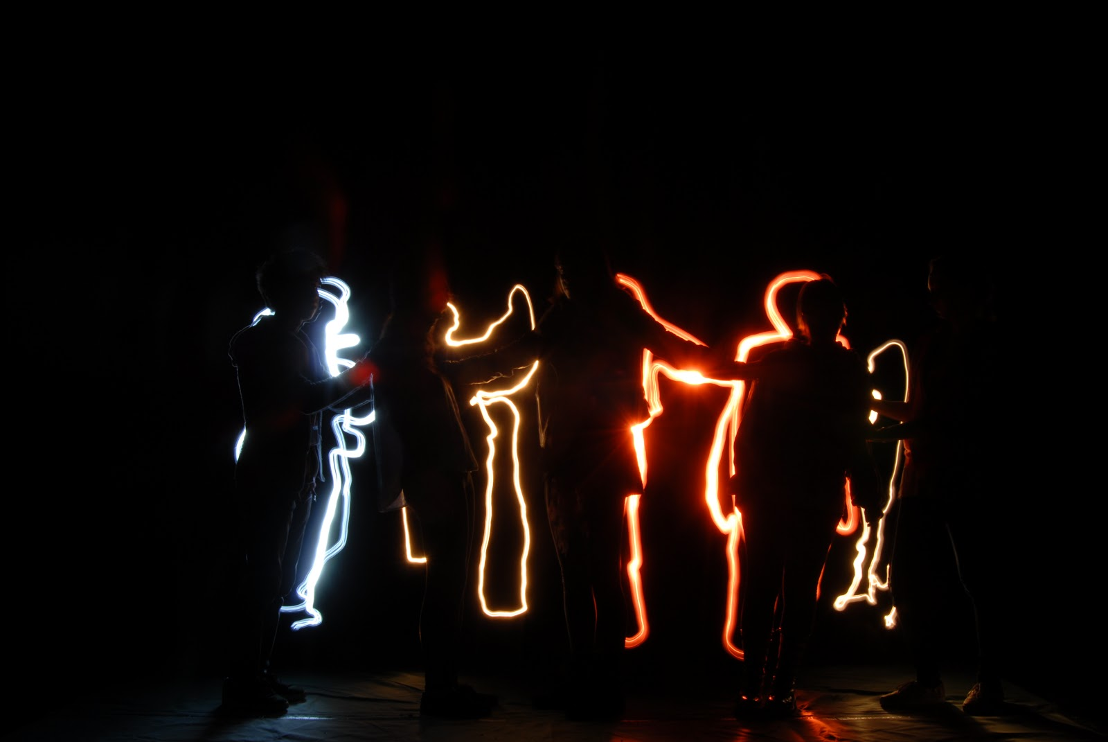 Light Painting Is A Method That Uses Long Exposure Photography And Torches To Create An Image