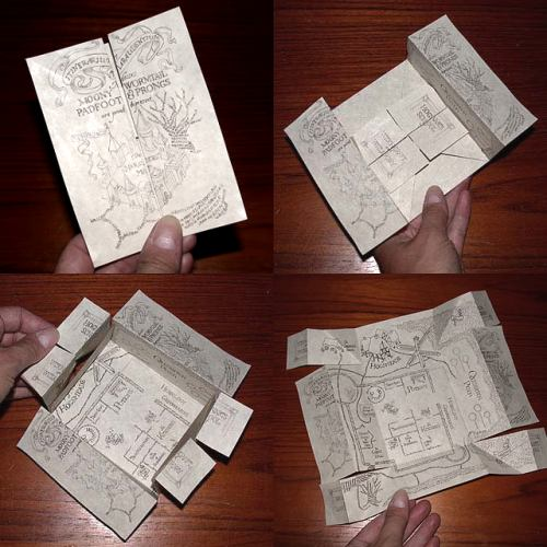 The Marauder's Map according to the Harry Potter wiki is: