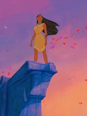 Pocahontas TOP 10 melhores heroínas da ficção (8 de Março: Dia das Mulheres)