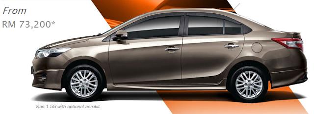 Toyota Vios baru 2013
