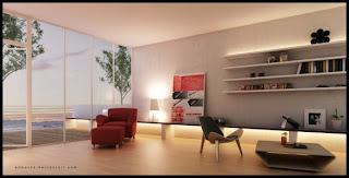 Fabulous Modern Contemporary Living Room Design