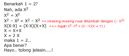 Soal Matematika 1