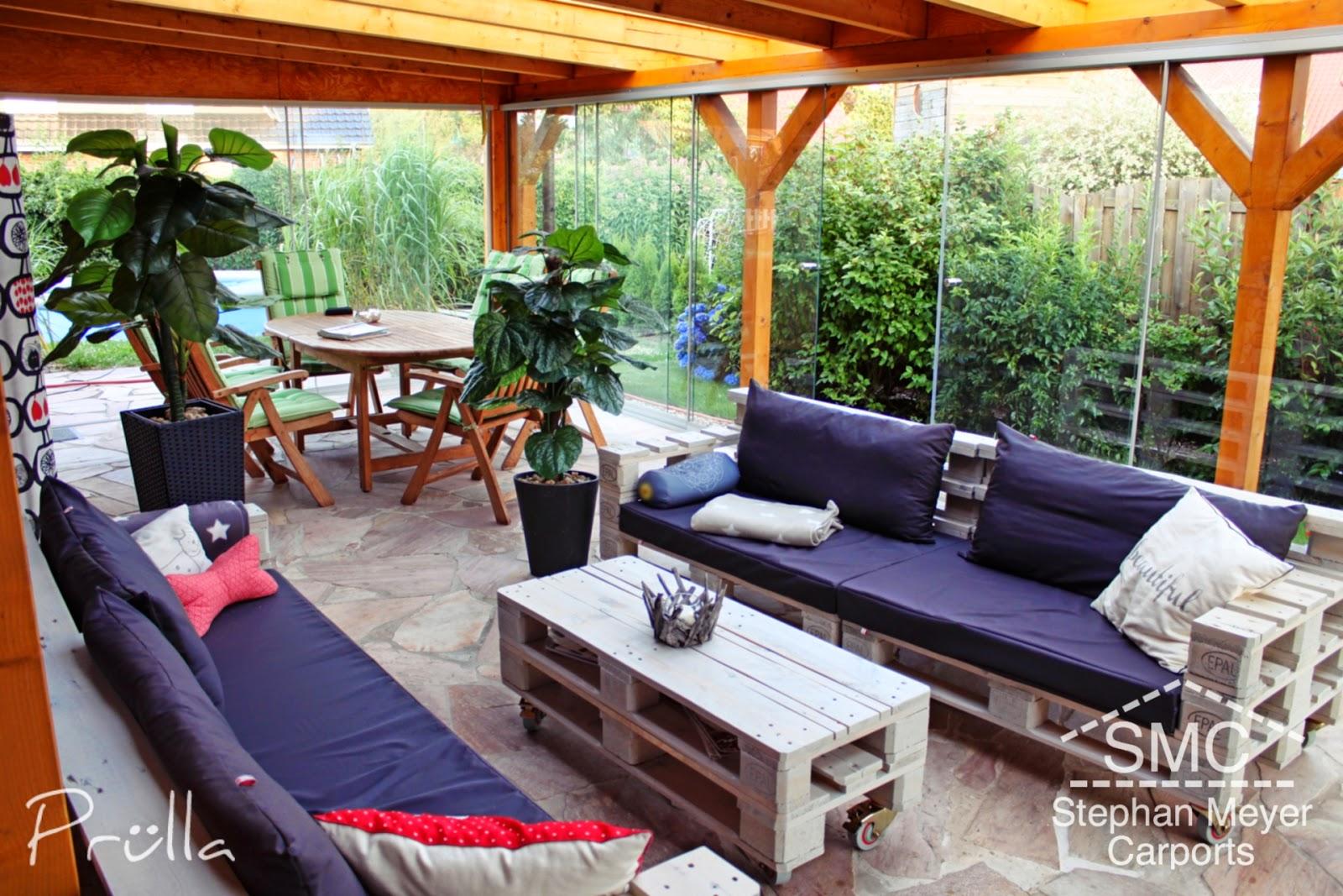 Wintergarten Möbel gemeinschaftsprojekt palettenmöbel prülla