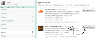 Cara Mencabut Akses Aplikasi Twitter