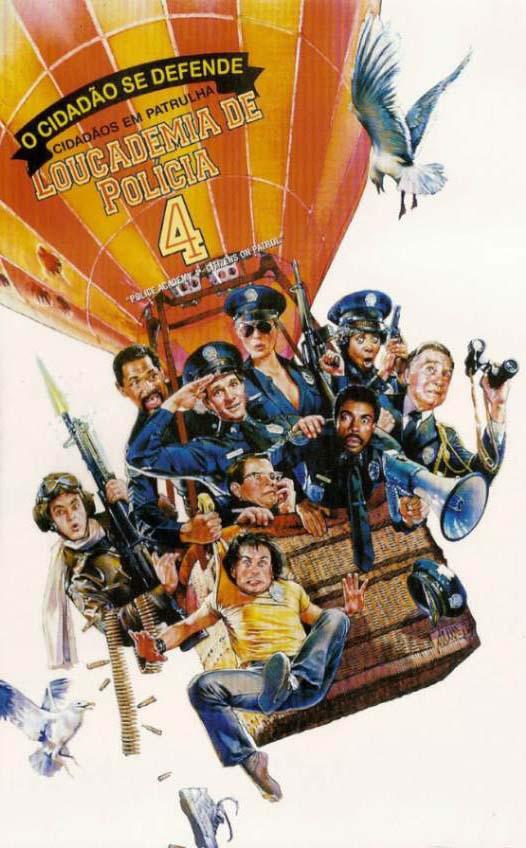 Loucademia de Polícia 4: O Cidadão se Defende Torrent - Blu-ray Rip 720p e 1080p Dual Áudio (1987)