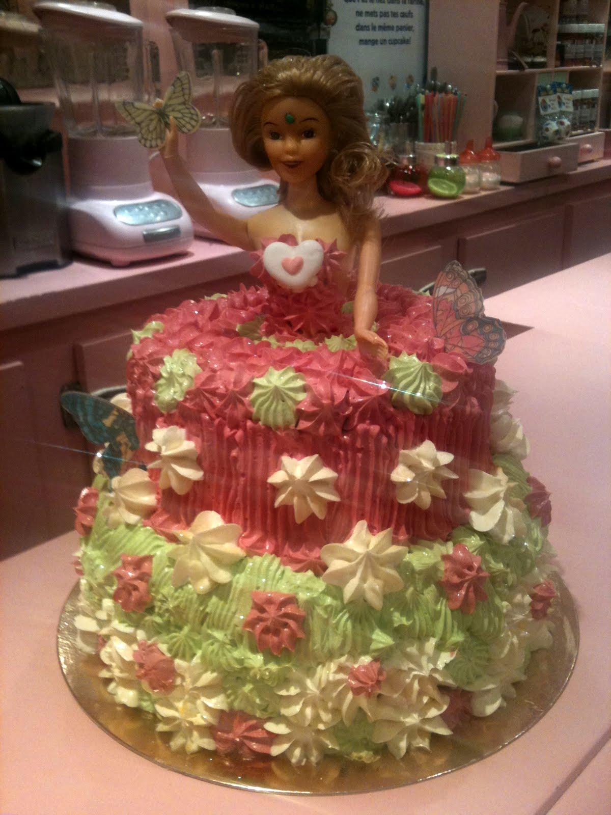 Pin Anniversaire Barbie Cake Design Enfant Gateau Cake On Pinterest