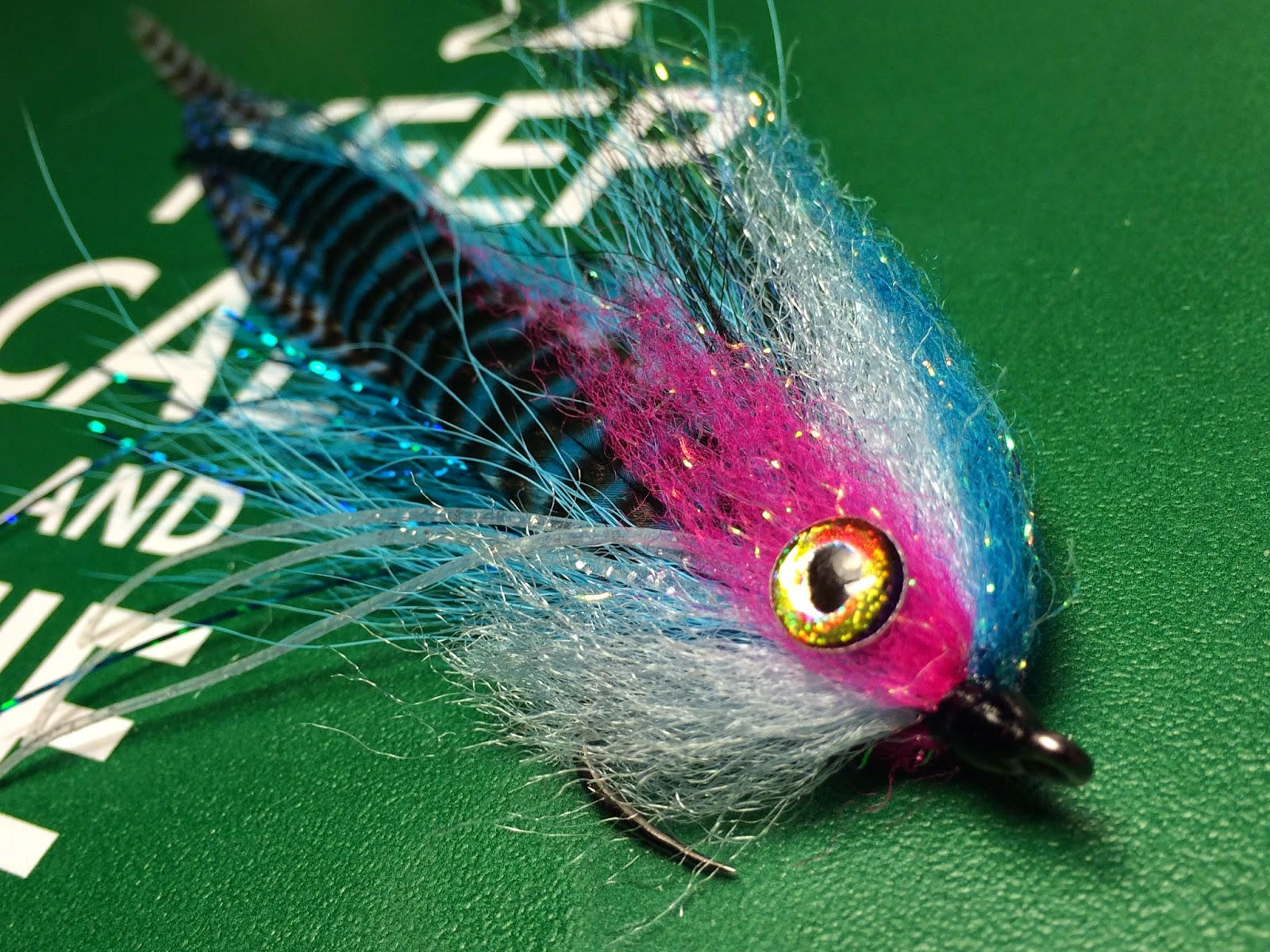 Just Dragon Fly streamer à Brochet