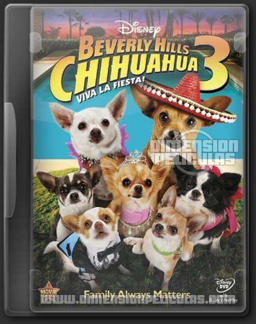 beverly hills chihuahua 3 (DVDRip Ingles Subtitulado) (2012)