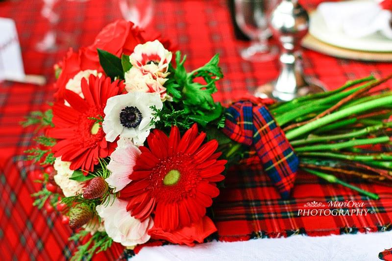Tartan wedding