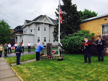 One Hundred at Legion to Honor War Dead